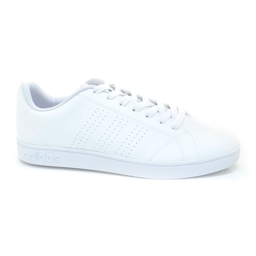 2b98c67c5 Tênis Branco Adidas Advantage BRANCO Com o Melhor Preço na Vizzent