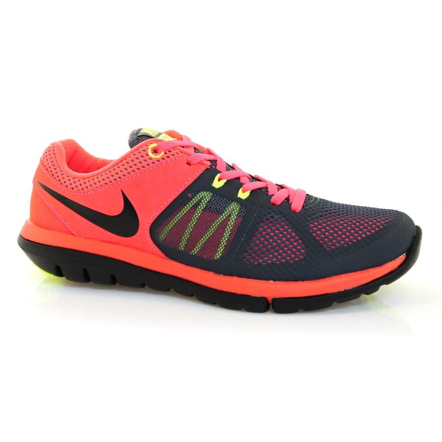 84fb2b0e4 Tênis Nike Running Flex 2014 CHUMBO ROSA PRETO Com o Melhor Preço na ...