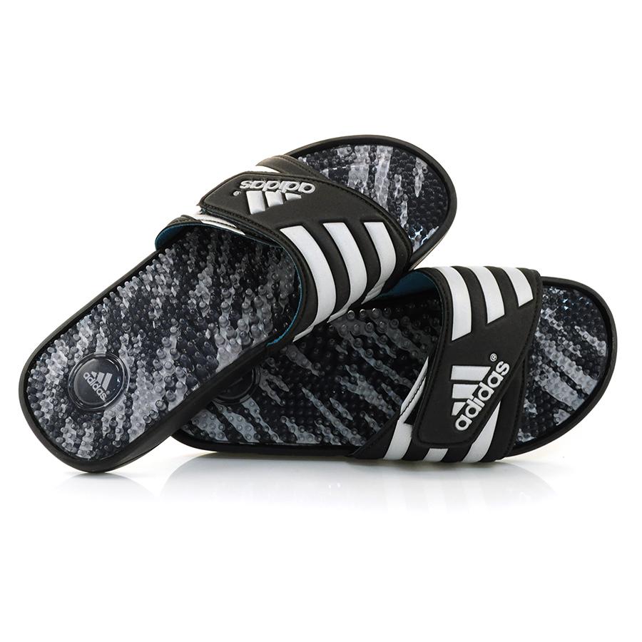 a350910ea3c Chinelo Adidas Adissage 2 PRETO CINZA Com o Melhor Preço na Vizzent
