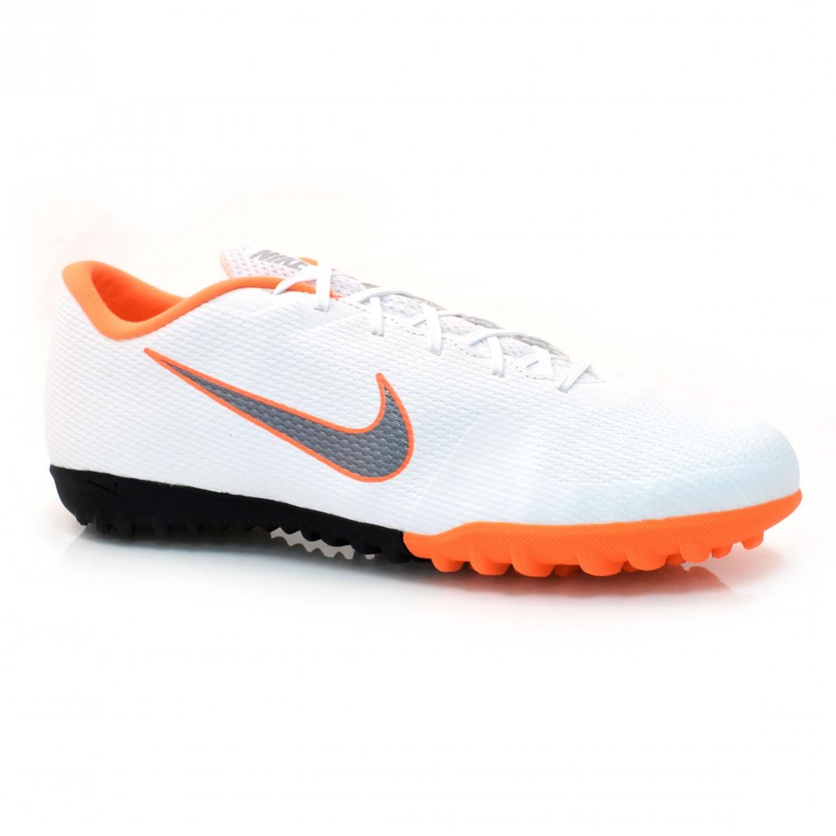 Tênis Society Nike Mercurial BRANCO LARANJA Com o Melhor Preço na ... bdcced821879c