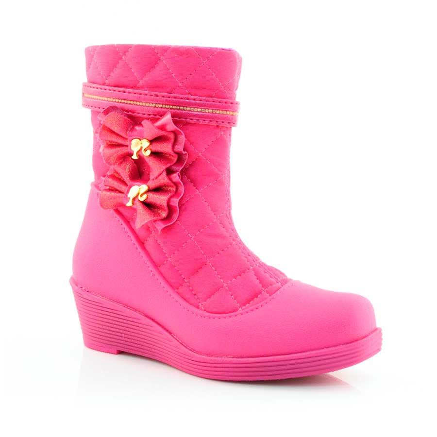 c0fc35d87b3 Bota Infantil Barbie Power Pink ROSA ROSA Com o Melhor Preço na Vizzent