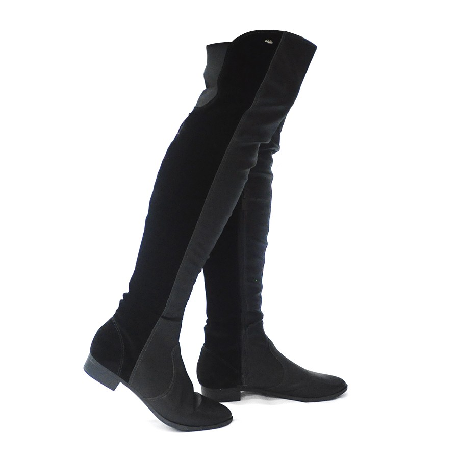b2c4c0712b Bota Over Knee Preta Dakota