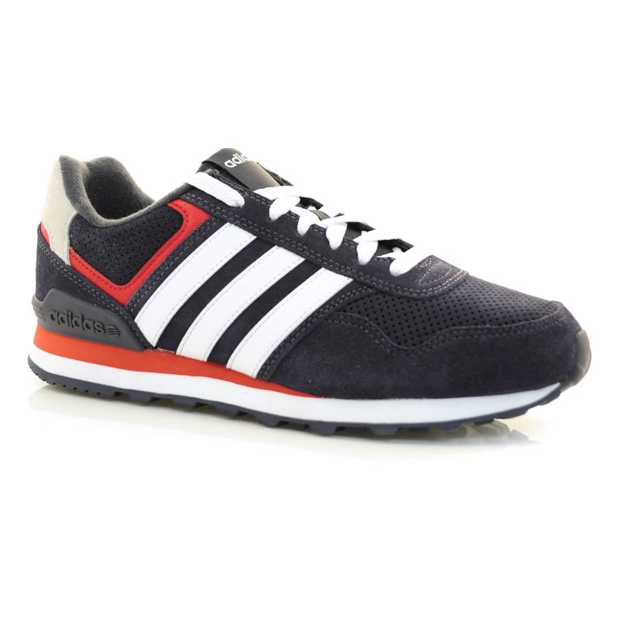 ff79cd3c633af Tênis Adidas Runeo 10k MARINHO/BRANCO/VERM Com o Melhor Preço na Vizzent