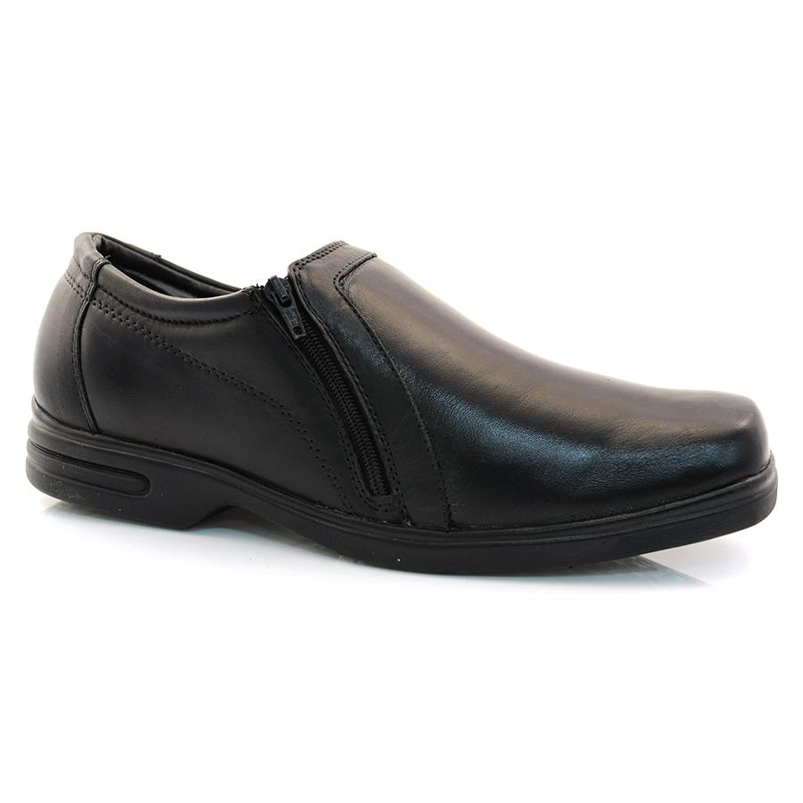 a3f49ee87cb35 Sapato Masculino Zapattero VEGETAL PRETO Com o Melhor Preço na Vizzent