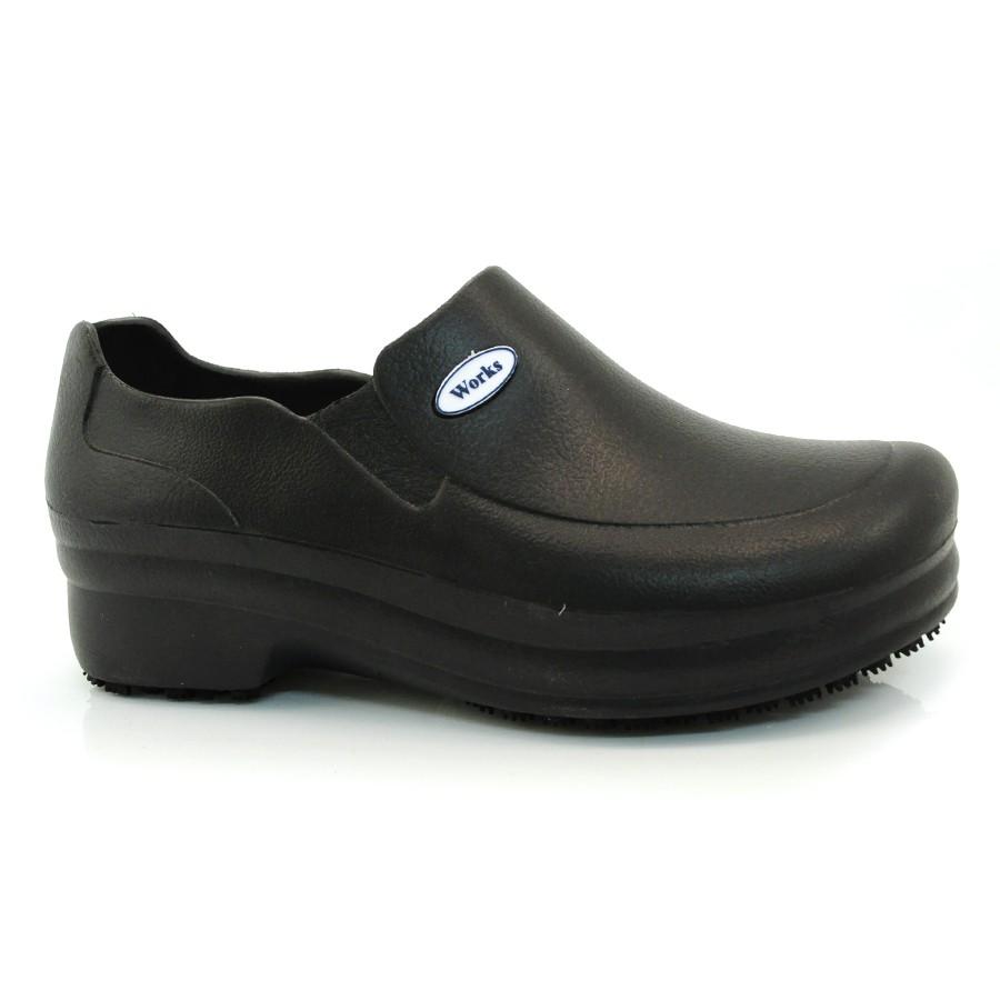 5b3695218c Sapato De Eva Soft Mania Works Profissional PRETO Com o Melhor Preço ...