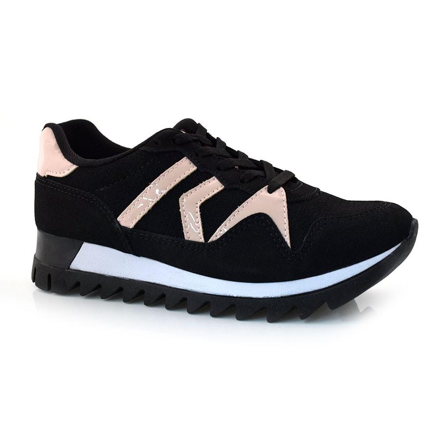 11cf35a2a8 Tênis Jogging Feminino Kolosh PRETO 001 (S) Com o Melhor Preço na ...