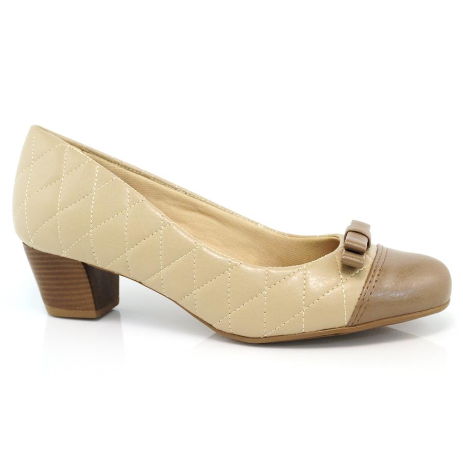 ed57c0ea5 Sapato Feminino Lesly Comfort RELAX GENGIBRE/RAFIA Com o Melhor ...