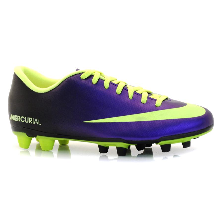 Chuteira Campo Nike Mercurial ROXO VD LIMAO PRETO Com o Melhor Preço ... 373aae2010be7