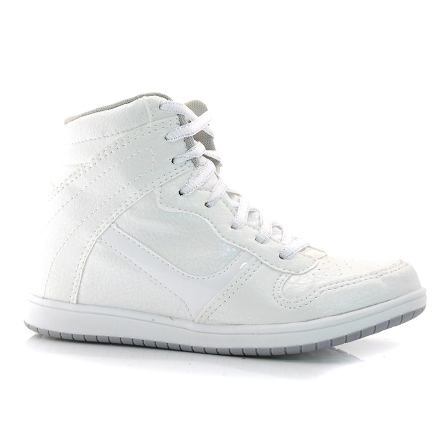 833e8bd9444 Sneaker Feminino Logus BRANCO Com o Melhor Preço na Vizzent