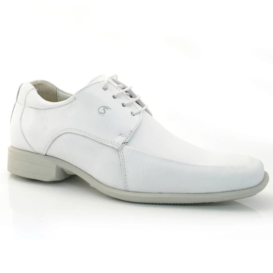 a0250132fe Sapato Social Masculino Sollu Roma BRANCO Com o Melhor Preço na Vizzent