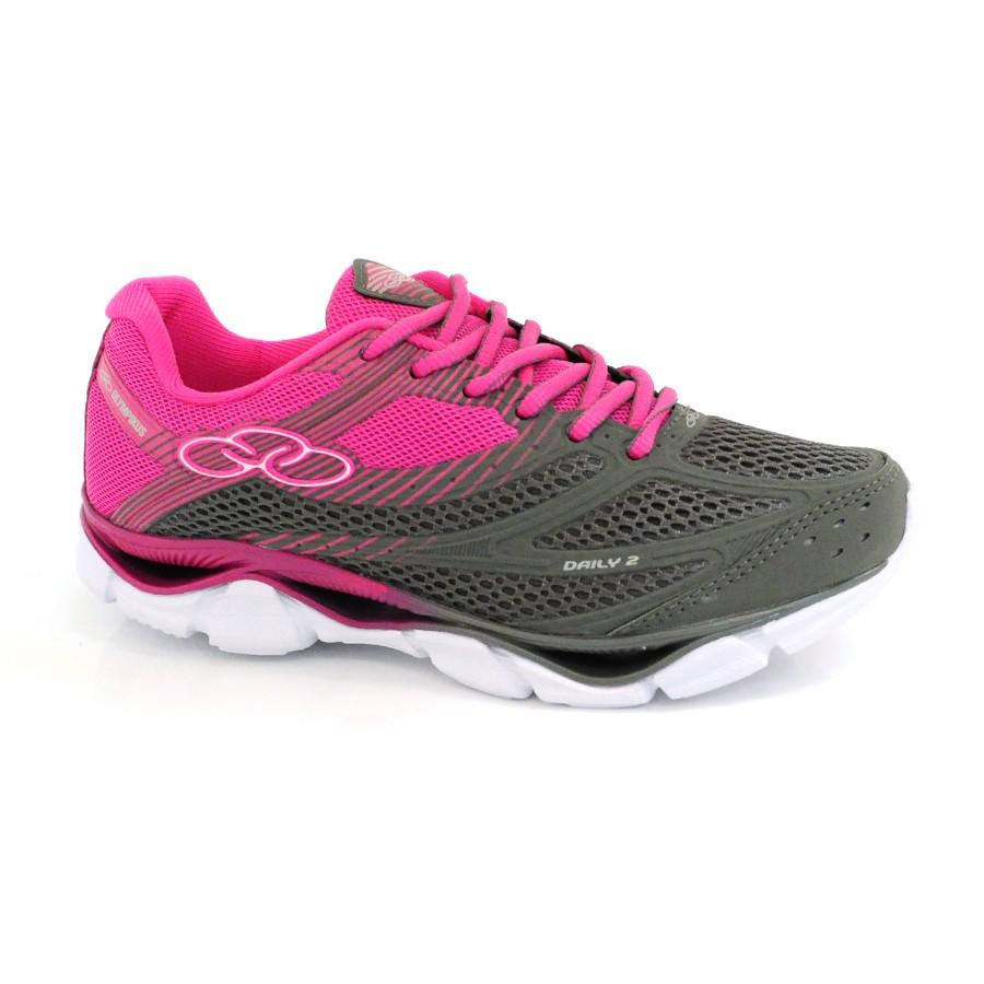 4e2ec16404 Tênis Rosa Feminino Olympikus Daily CHUMBO PINK Com o Melhor Preço ...