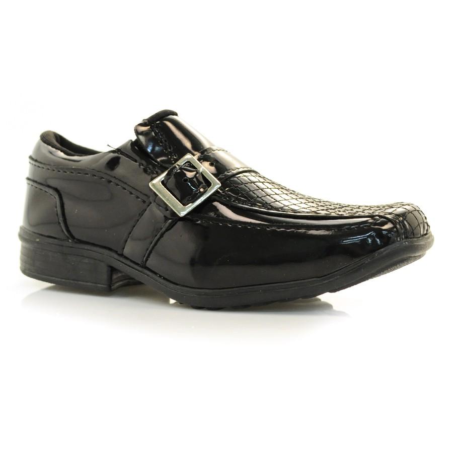 e4b059a6c Sapato Social Masculino Infantil Kepy VZ PRETO Com o Melhor Preço na ...