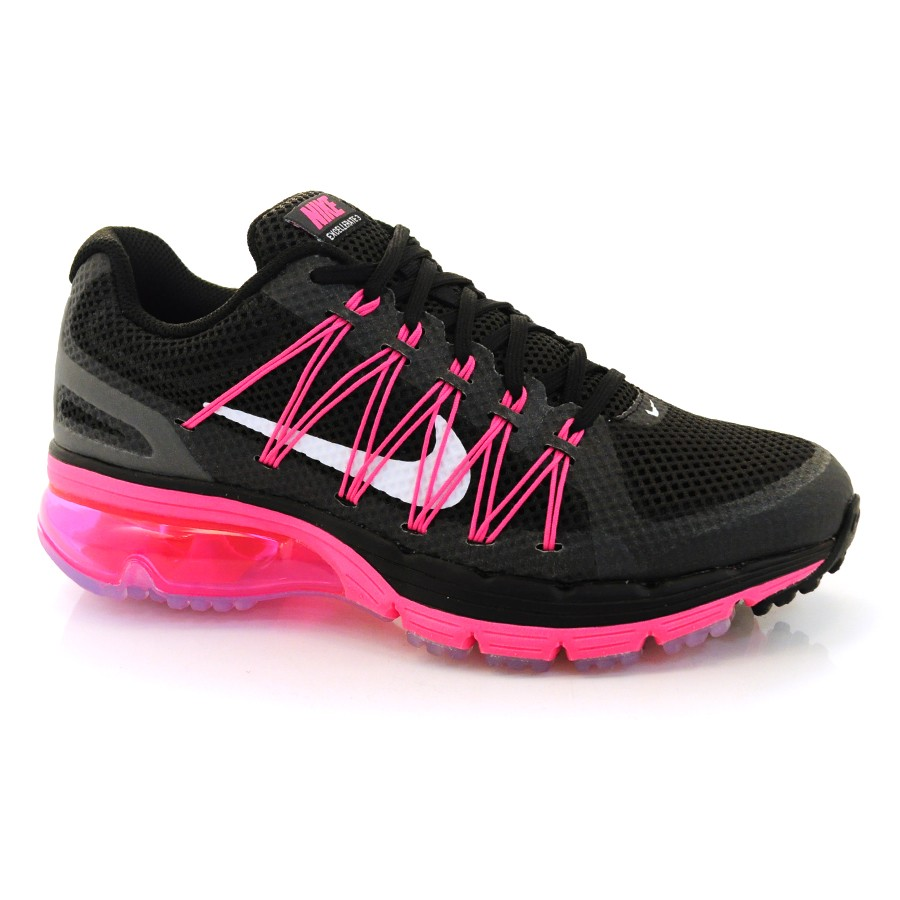 ac784eff31 Tênis Nike Air Max Excellerate 3 PRETO ROSA BRANCO Com o Melhor ...