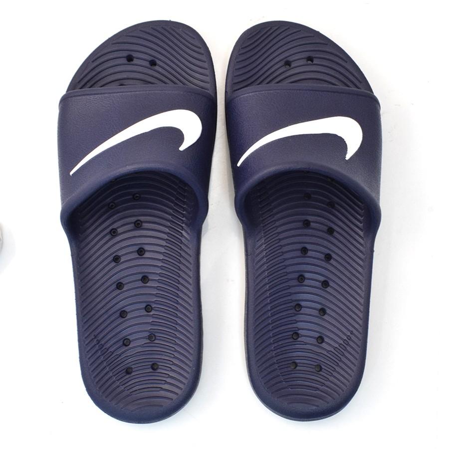 28b1ae4d88e2d Chinelo Slide Masculino Nike Kawa MARINHO BRANCO Com o Melhor Preço ...