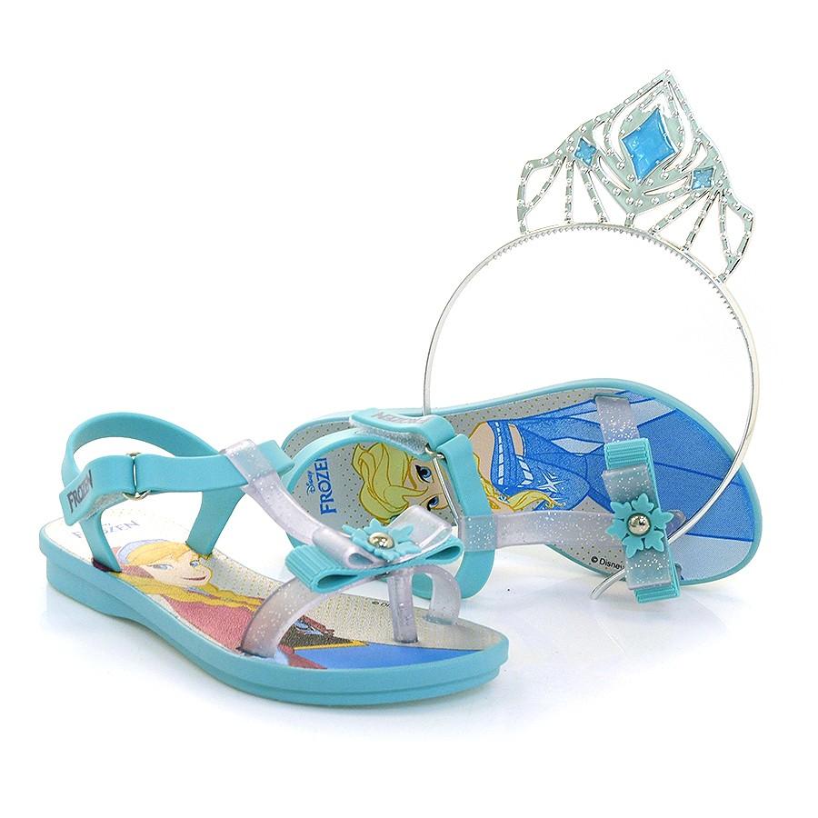 535a08414 Ampliar imagem. Sandália Infantil Disney Frozen ...