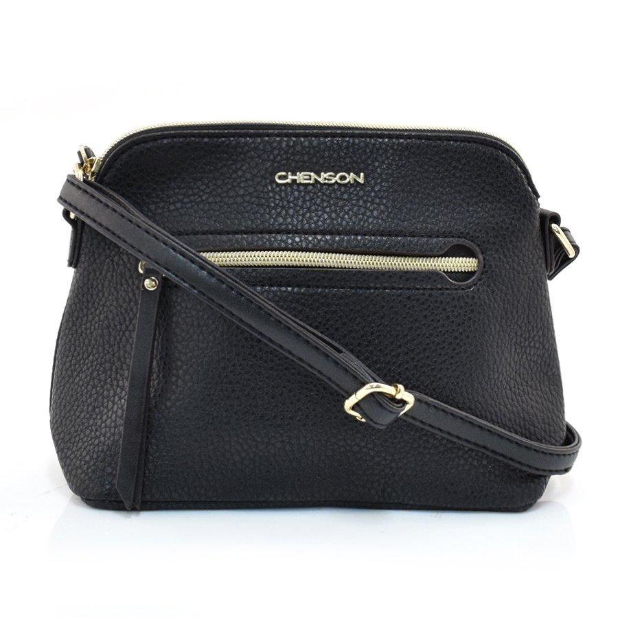 a90bbe802 Bolsa Pequena Transversal Feminina Chenson PRETO Com o Melhor Preço ...