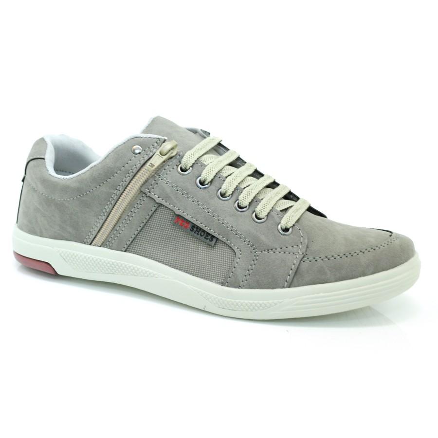 f06f50f9fe8 Sapatênis Masculino Ped Shoes CINZA CINZA E Com o Melhor Preço na ...