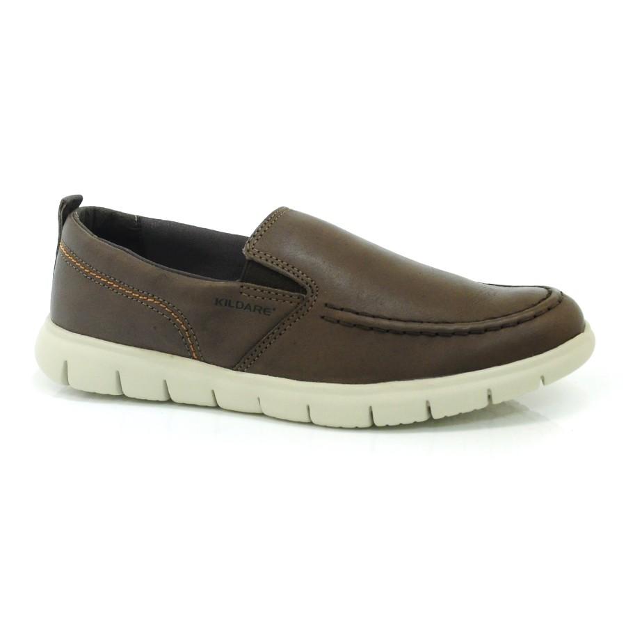 092a101db57 Sapato Casual De Couro Kildare Niort SADDLE Com o Melhor Preço na ...