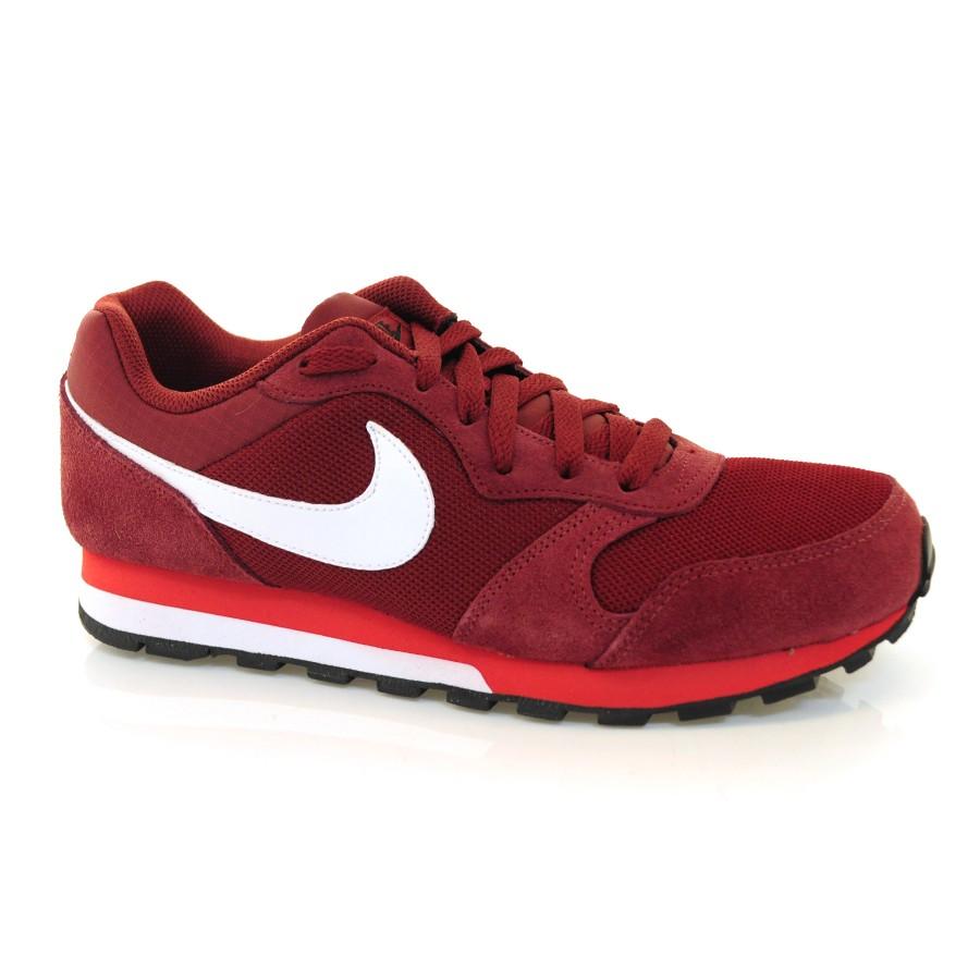 3221238ab4344 Tênis Masculino Nike Md Runner 2 BORDO BRANCO Com o Melhor Preço na ...