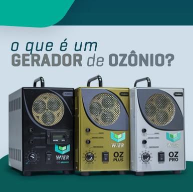 O que é um gerador de ozônio