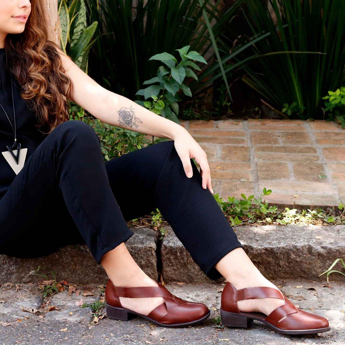 Sapato Tranças Luna