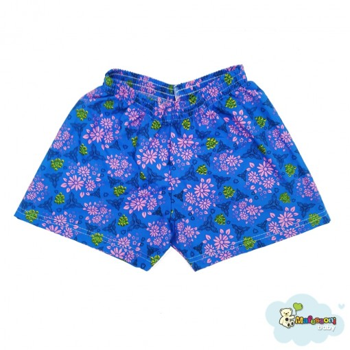 (00753) Shorts Tactel Estampado Feminino Infantil SORTIDO Mafessoni