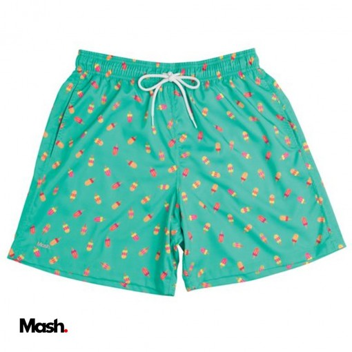 (613.30) Short Estampado Masc Mash