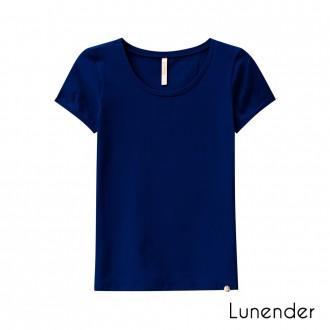 Imagem - (00018-A) Blusa Malha Cotton Feminino Adulto Lunender ref: 00018-A