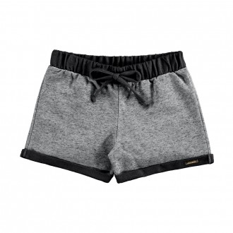 Imagem - (00212) Shorts Moletom Linen sem Felpa Feminino Infantil Alakazoo ref: 00212
