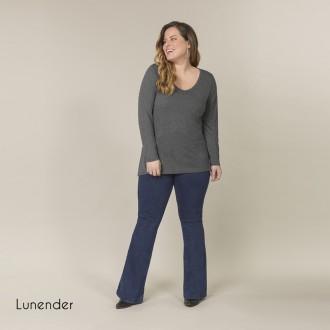 Imagem - (00349) Blusa Basica de Malha Lunender ref: 00349