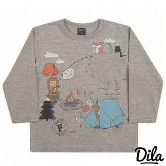 Imagem - (15201855) Camiseta  Malha Masculino Dila - 2121164_16-MESCLA