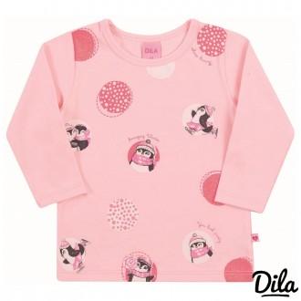 Imagem - (15601775) Blusa Cotton Feminino Para Bebê Dila ref: 15601775