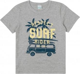 Imagem - (1000084216) Camiseta Masculina Infantil De Malha U.V - Malwee Kids ref: 1000084216