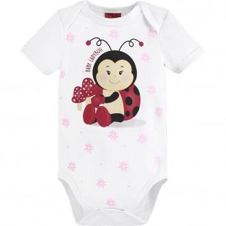 Imagem - (110.820) Body De Cotton Feminino Para Bebê- KYLY ref: 110.820