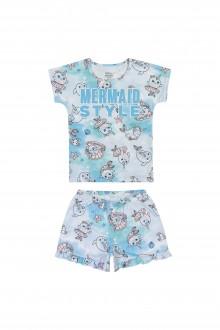 Imagem - (13030) Pijama Feminino Meia Malha Infantil - ELIAN ref: 13030