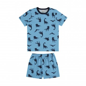 Imagem - (16059) Pijama de Malha Infantil Masculino - Alakazoo! ref: 16059
