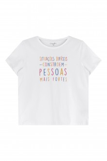 Imagem - (182461) Camiseta Feminina Meia Malha Adulto - Marialícia ref: 182461