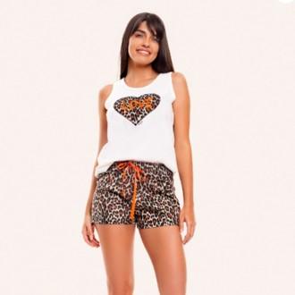 Imagem - (201) Pijama Feminino Short Doll  - VILY ref: 201