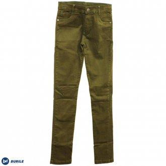 Imagem - (2012207) Calça sarja verde - BURILE ref: 2012207