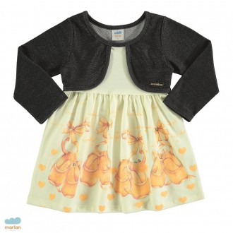 Imagem - (20392) Vestido bailarina feminino infantil - Marlan ref: 20392