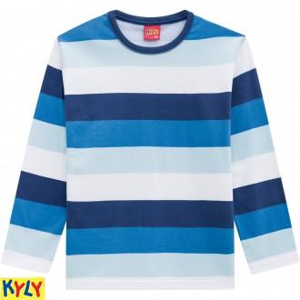Imagem - (205.939) Camiseta manga longa meia malha - KYLY ref: 205.939