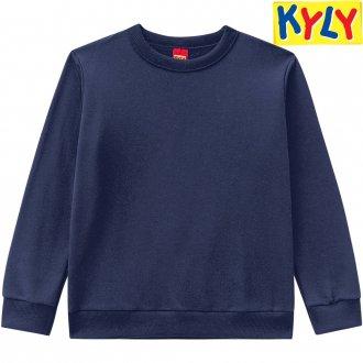 Imagem - (206.272-M) Blusão de Moletom Masculino Básico Kyly ref: 206.272-M