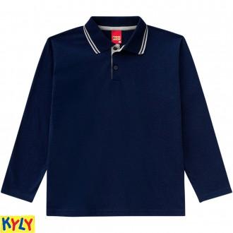 Imagem - (206.290) Camisa polomeia malha - KYLY ref: 206.290