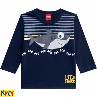 Imagem - (207.167) Camiseta manga longa meia malha - KYLY ref: 207.167