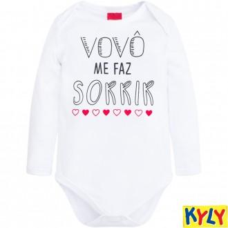 Imagem - (207.287) Body Cotton C/ Frases Infantil Kyly ref: 207.287