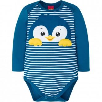 Imagem - (207.316) Body Masculino Infantil Cotton Kyly ref: 207.316