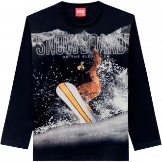 Imagem - (207.477) Camiseta Malha Juvenil Feminino Kyly ref: 207.477