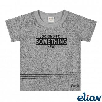Imagem - (221057) Camiseta Meia Malha Masculino Infantil Elian ref: 221057