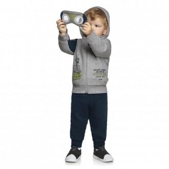 Imagem - (221126) Conjunto Masculino Moletom Infantil Divertido Elian ref: 221126