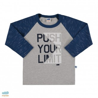 Imagem - (22515) Camiseta de manga longa masculino infantil - Marlan ref: 22515
